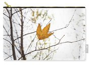 Single Leaf In Fall Carry-all Pouch