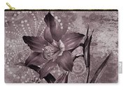 Single Lily-vintage Series  Carry-all Pouch