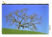 Single Oak Tree Carry-all Pouch