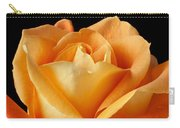 Single Orange Rose Carry-all Pouch