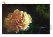 Single Peony Carry-all Pouch