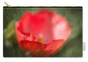 Single Poppy  Carry-all Pouch