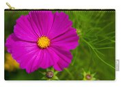 Single Purple Cosmos Flower Carry-all Pouch