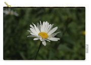 Single Shasta Daisy Bloom Carry-all Pouch