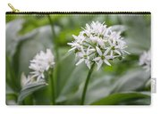 Single Stem Of Wild Garlic Carry-all Pouch