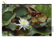 Single Water Lilly  Carry-all Pouch