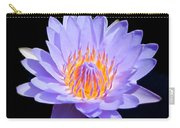 Single Water Lily Carry-all Pouch