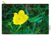 Single Yellow Buttercup Carry-all Pouch
