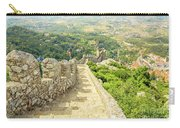 Sintra Moorish Castle Wall Carry-all Pouch