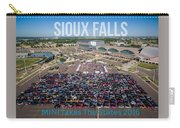 Sioux Falls Rise/shine 3 W/text Carry-all Pouch