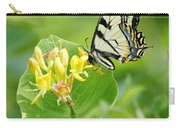 Sipping Swallowtail Carry-all Pouch