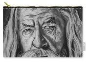 Sir Ian Mckellen As Gandalf The Grey Carry-all Pouch