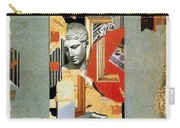 Sir John Soane's Museum - London Underground, London Metro - Retro Travel Poster - Vintage Poster Carry-all Pouch