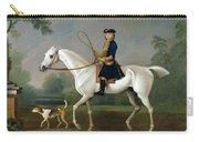 Sir Roger Burgoyne Riding 'badger' Carry-all Pouch