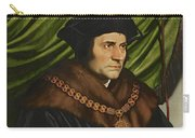 Sir Thomas More Carry-all Pouch