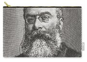 Sir Walter Besant, 1836 -1901. English Carry-all Pouch