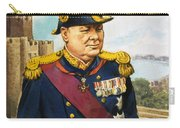 Sir Winston Churchill Carry-all Pouch