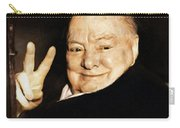 Sir Winston Churchill Victory Carry-all Pouch