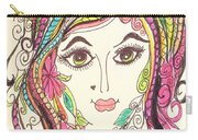 Sisterhood Of The Doodling Pens 5 Carry-all Pouch