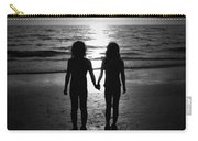 Sisters In Black And White Carry-all Pouch
