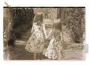Sisters-sepia Carry-all Pouch