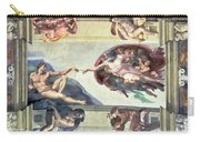 Sistine Chapel Ceiling Creation Of Adam Carry-all Pouch