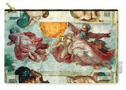 Sistine Chapel Ceiling Creation Of The Sun And Moon Carry-all Pouch
