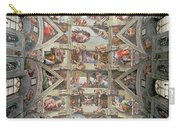 Sistine Chapel Ceiling Carry-all Pouch