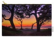 Sit With Me Driftwood Beach Sunrise Jekyll Island Georgia Carry-all Pouch