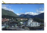 Sitka From The Waterfront Showing The Three Sisters In The Back 2015 Carry-all Pouch