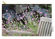Sitting Amongst A Wildflower Garden Carry-all Pouch