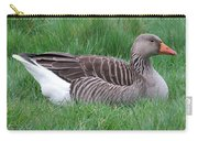 Sitting Goose Carry-all Pouch
