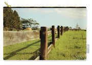 Sitting On The Fence Carry-all Pouch