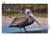 Sitting On The Pier Carry-all Pouch