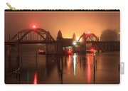 Siuslaw River Bridge At Night Carry-all Pouch