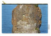 Siwash Rock By Stanley Park Carry-all Pouch