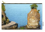 Siwash Rock By Stanley Park Seawall Carry-all Pouch