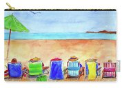 Six Beach Amigos Carry-all Pouch