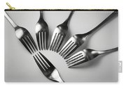 Six Forks Abstract Composition Carry-all Pouch