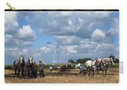 Six Horses Carry-all Pouch