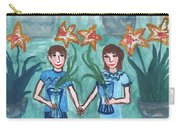 Six Of Cups Illustrated Carry-all Pouch
