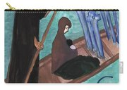 Six Of Swords Illustrated Carry-all Pouch