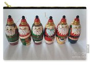 Six Russian Santas Carry-all Pouch