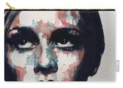 Sixties Sixties Sixties Twiggy Carry-all Pouch by Paul Lovering