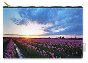 Skagit Floral Sunset Carry-all Pouch