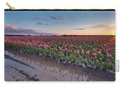 Skagit Valley Tulip Reflections Carry-all Pouch