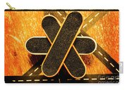 Skateboarding Star Carry-all Pouch