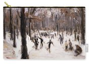 Skaters In The Tiergarten, Berlin Carry-all Pouch