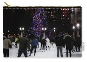 Skating By The Tree Carry-all Pouch
