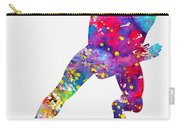 Skating Man-colorful Carry-all Pouch